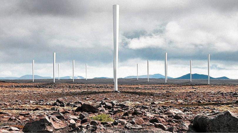 Molinos eólicos sin aspas desarrollado por innovadores españoles