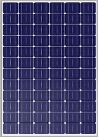 Panel solar monocristalino MEPV 72