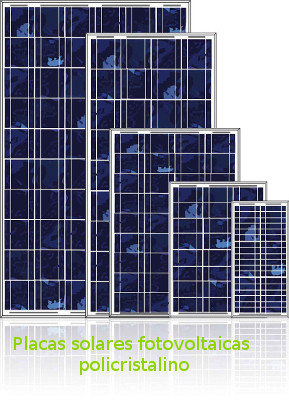Placas solares fotovoltaicas policristalino de ecosolar