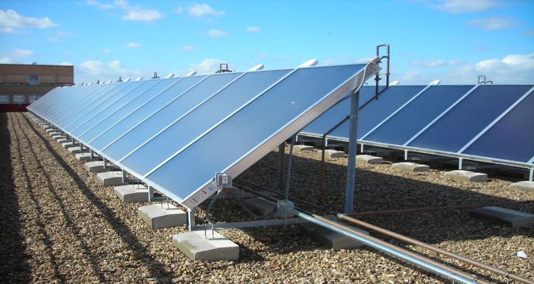 Precio placa solar termica good placas solares baratas for Placas solares precios
